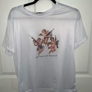 funny angel shirt